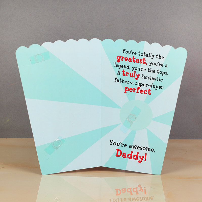 Inner view of Fathers Day Special Greeting Card