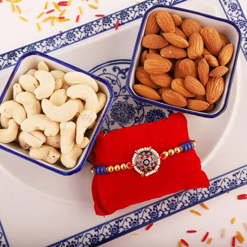 Nuts Rakhi Combo