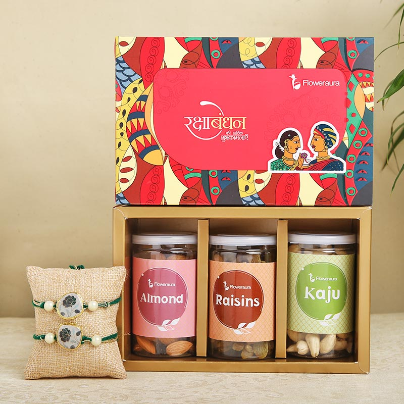 Nutty Rakhi Signature Box