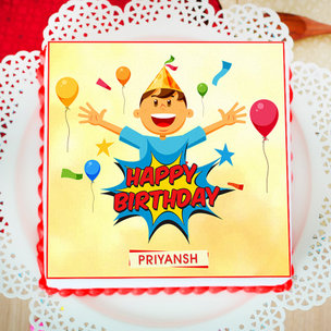 Party Grooving Poster Cake