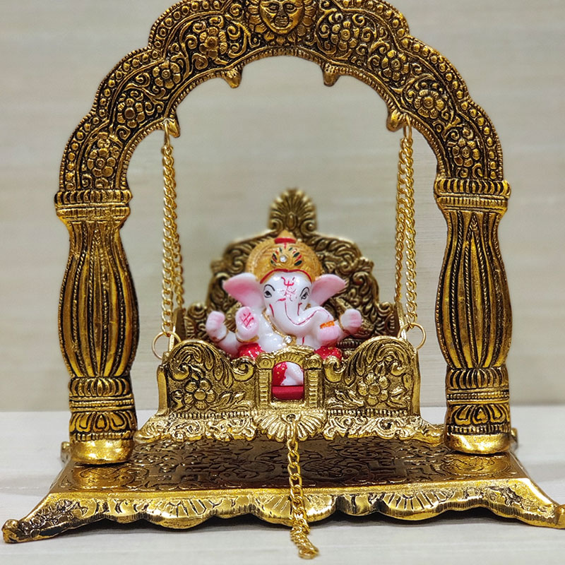 Peaceful Bhuja Surya Idol