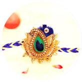 Order Peacock rakhi online in India