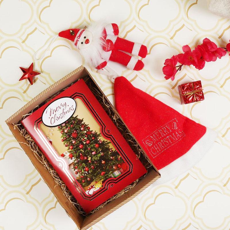 Peek A Boo Christmas Box