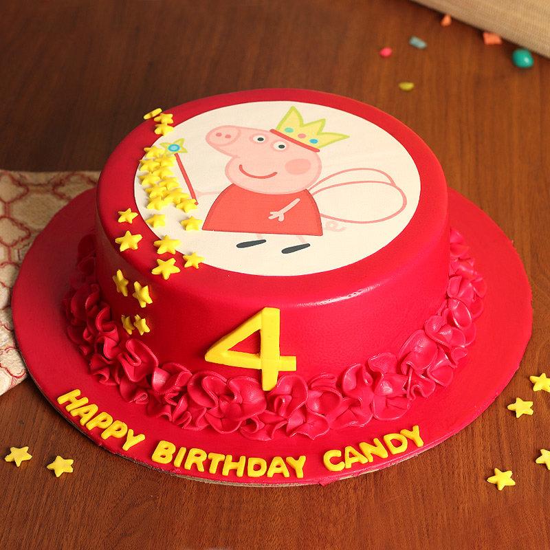 Peppa Pig Birthday Cake