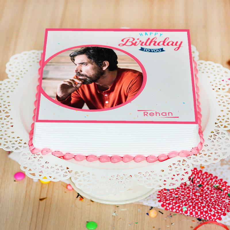 Birthday Theme Cake - Zoom View