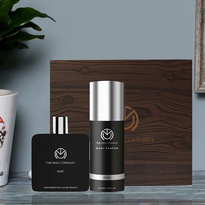 Perfume for Man - Noir Body Perfume 120 ml and Noir Eau De Toilette 100 ml