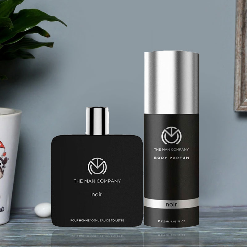 Perfume For Man - Noir Body Perfume and Noir Eau De Toilette