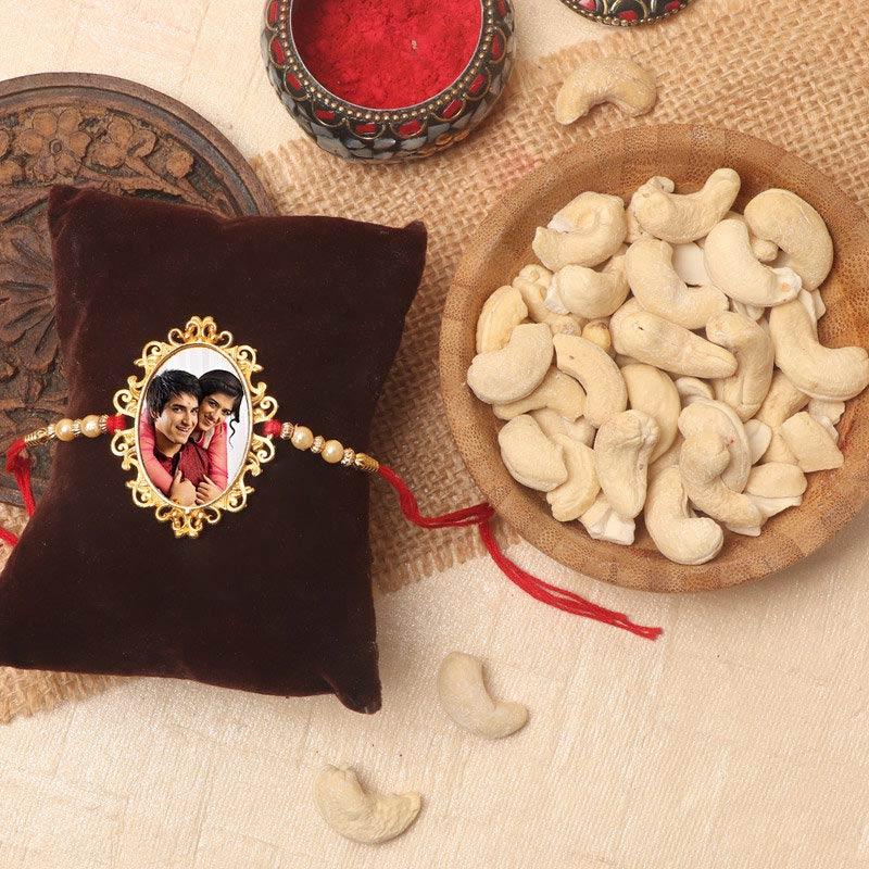 Personalise Rakhi N Nuts