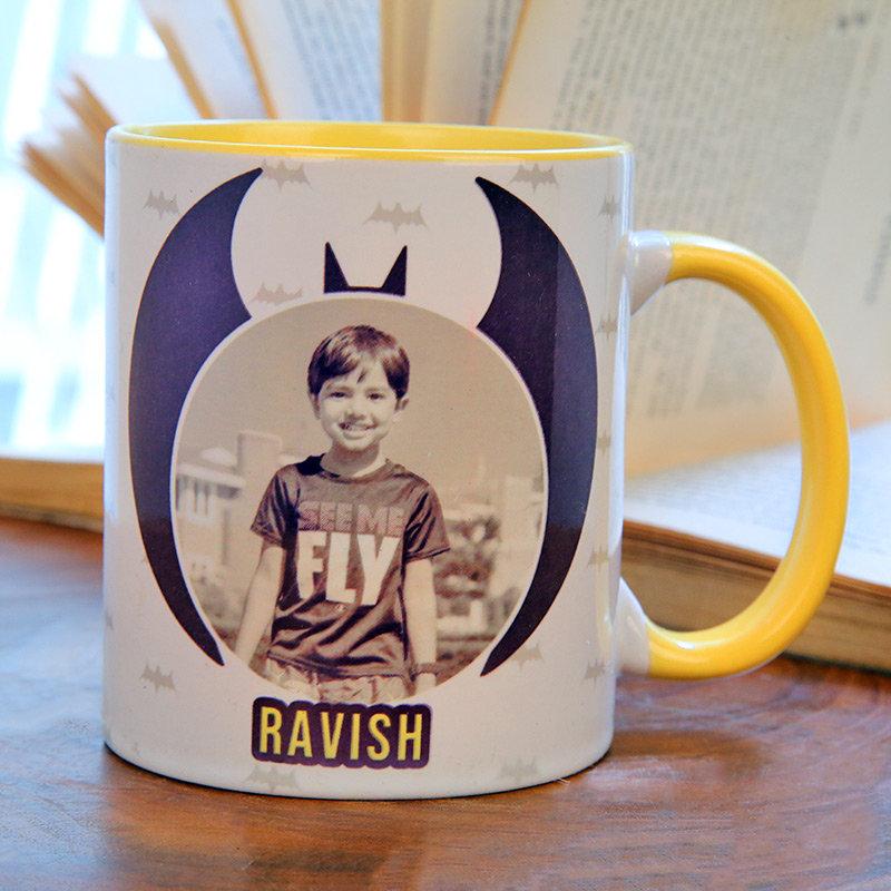 Personalised Batman Mug