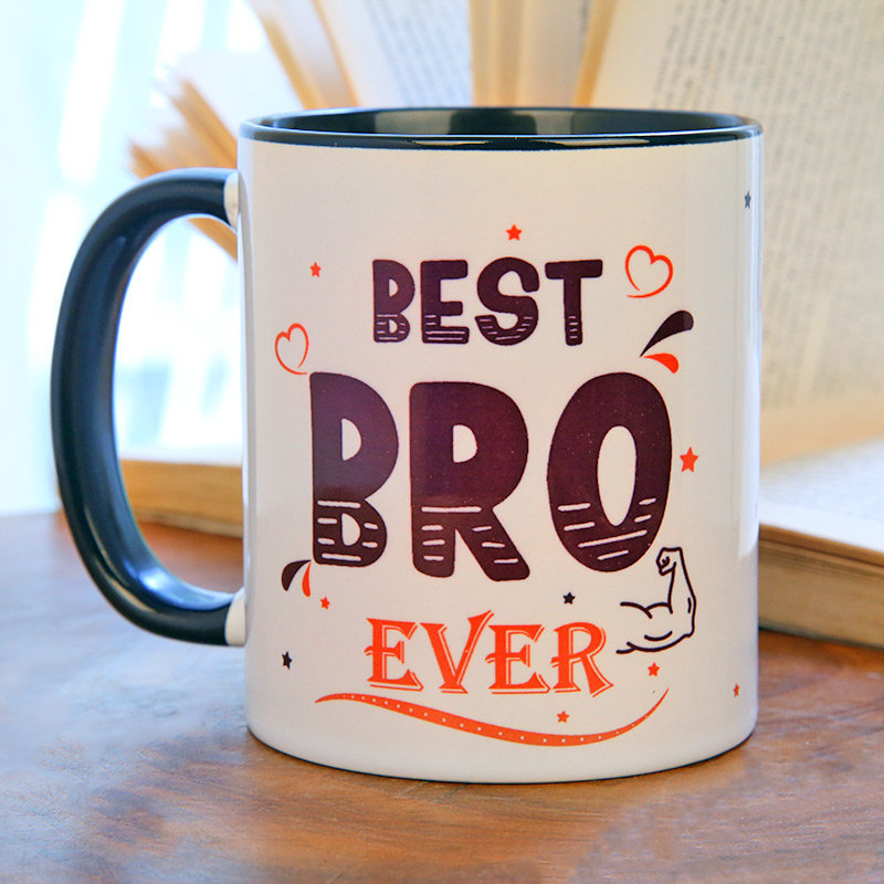 Personalised Best Bro Ever Mug