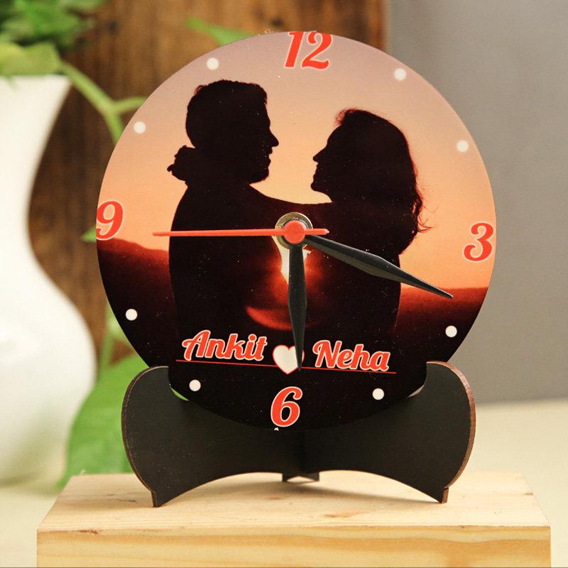 Personalised Couple Clock