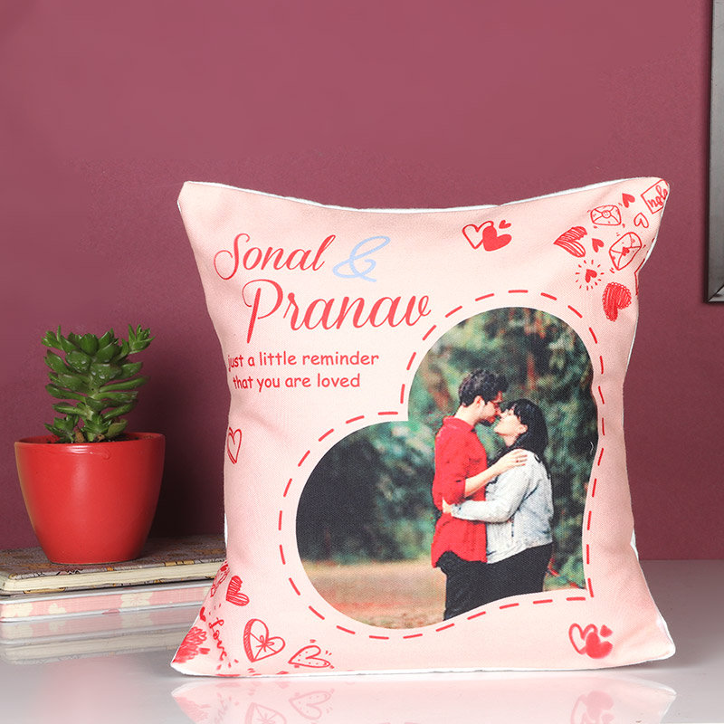 Personalised Cushion Of Love