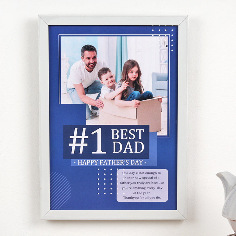 Personalised Dad Frame