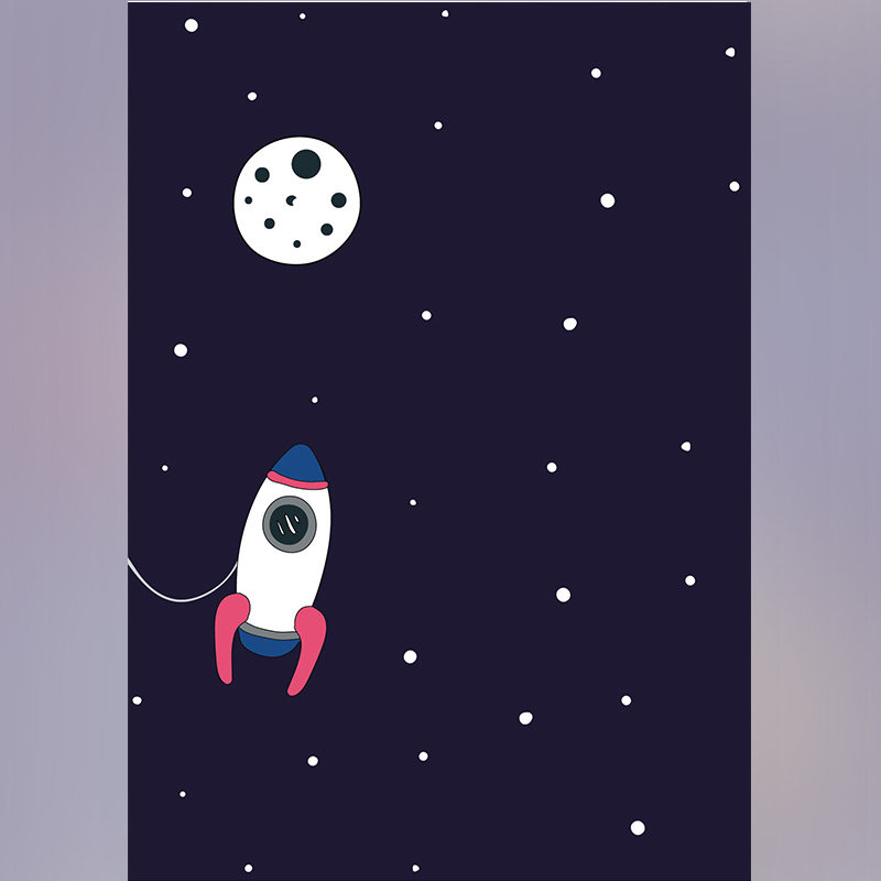 Outer Space Personalised E-Greeting Cards For Birthday