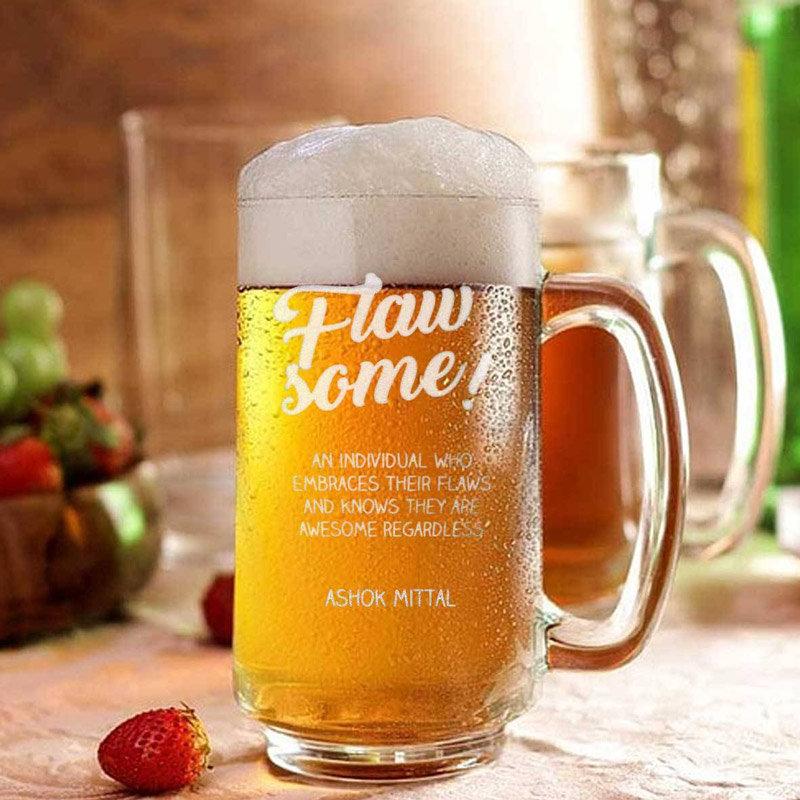 Personalised Beer Mug Gift