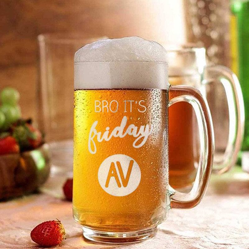 Fancy Personalised Beer Mugs For Fathers Day