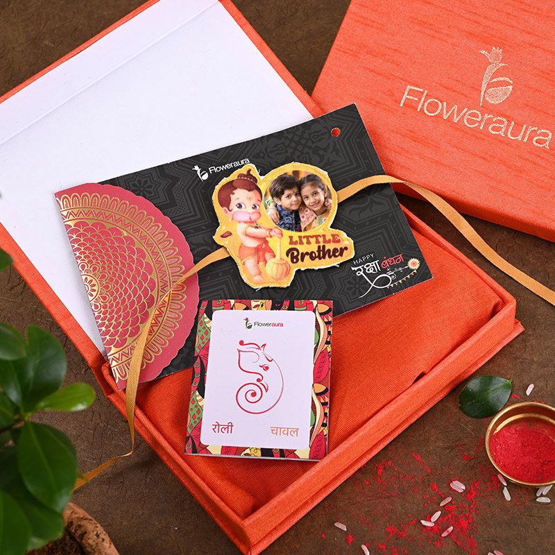 Send One Hanuman Personalised Rakhi Online in India