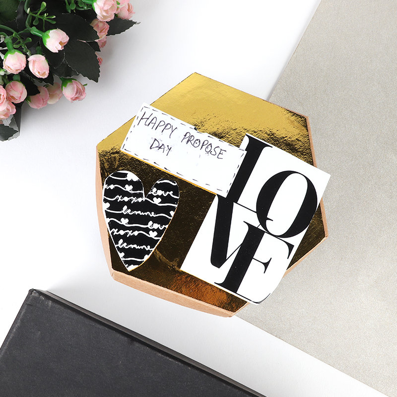 Personalised Happy Proposal Explosion Box