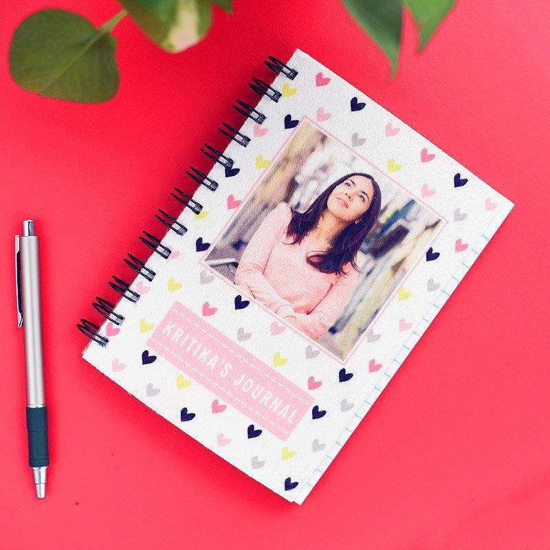 Personalised Journal - Rakhi Gifts for Sister Online