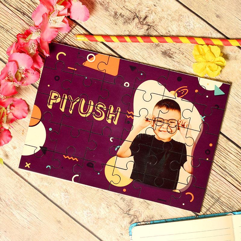 Personalised Kid Jigsaw - Personalised Puzzle