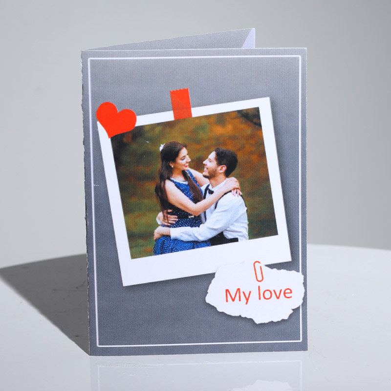 Personalised Greeting Card for Valentine Day