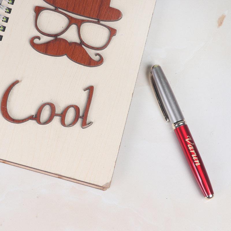 Personalised Metallic Pen