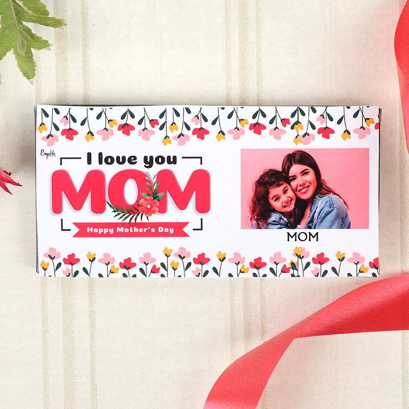 Personalised Mom Choco and Personalised Chocolate Bar