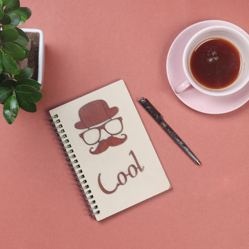 Gift Combo of Personalised Pen With Cool Notepad
