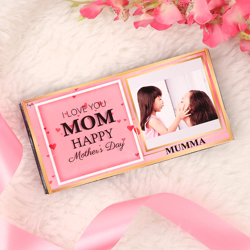 Personalised Pink Chick Chocolate and Personalised Chocolate Bar