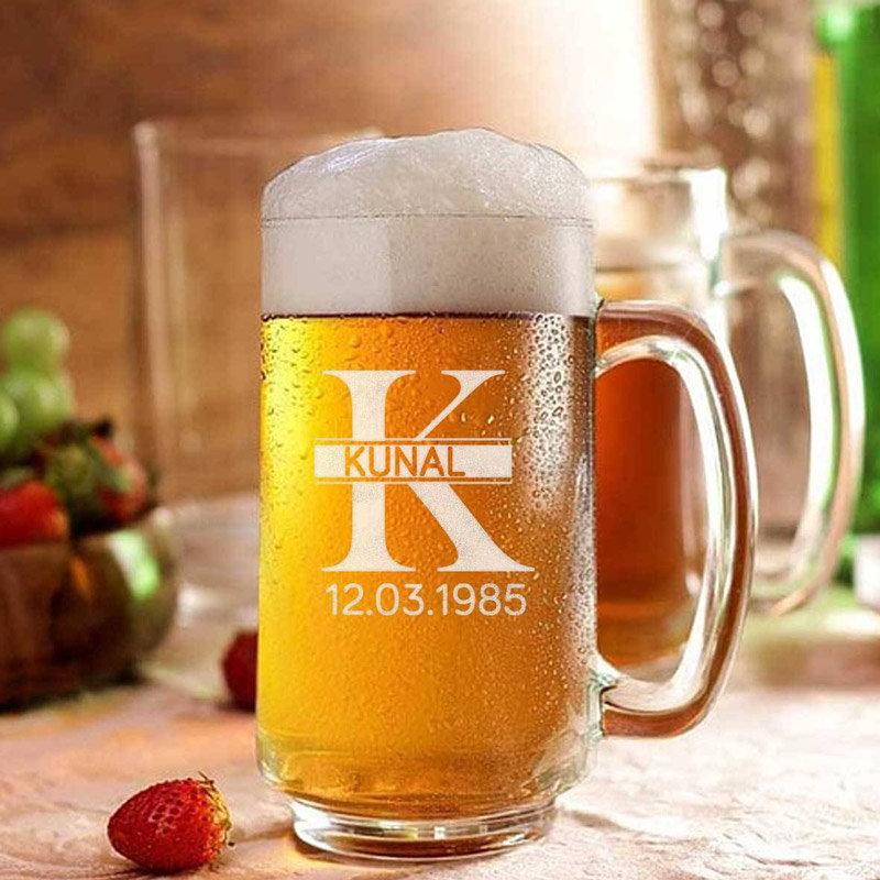 Custom Beer Fathers Day Mug Gift