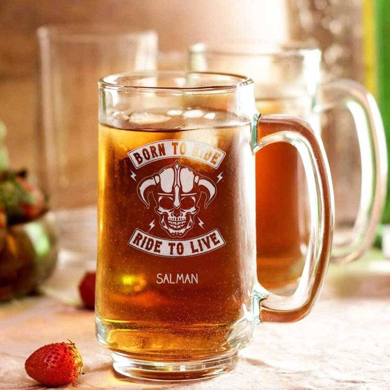 Big Beer Mug Personalised