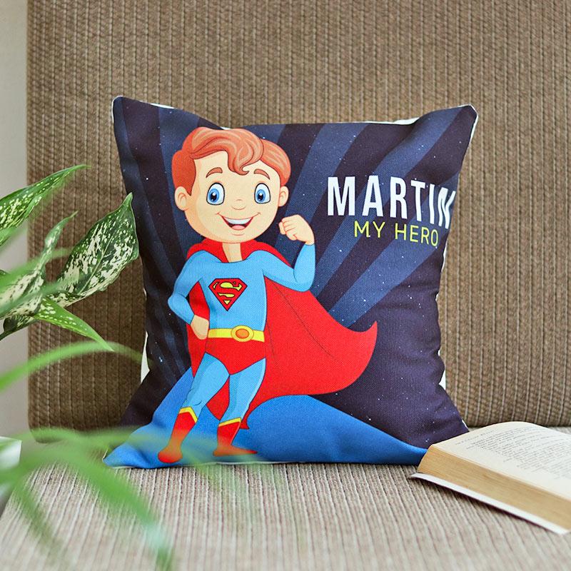 Personalised Super BRO Cushion