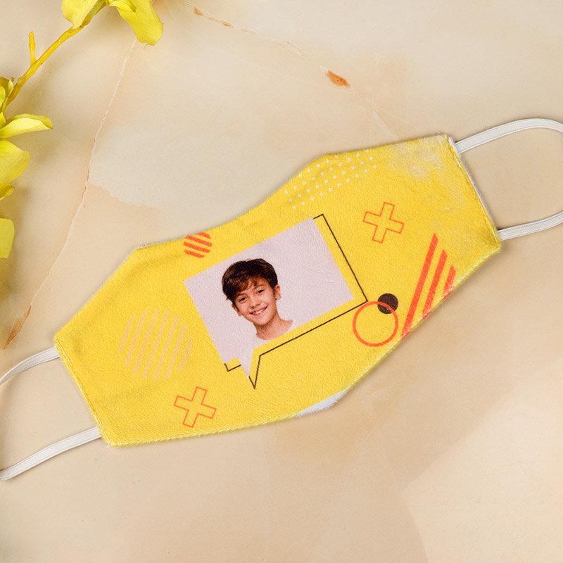 Personalised Yellow Mask
