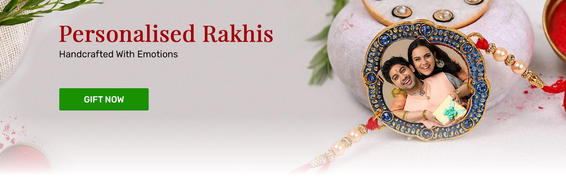 Send personalised rakhi online in india