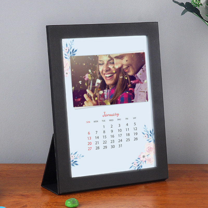 Personalized New Year Calendar