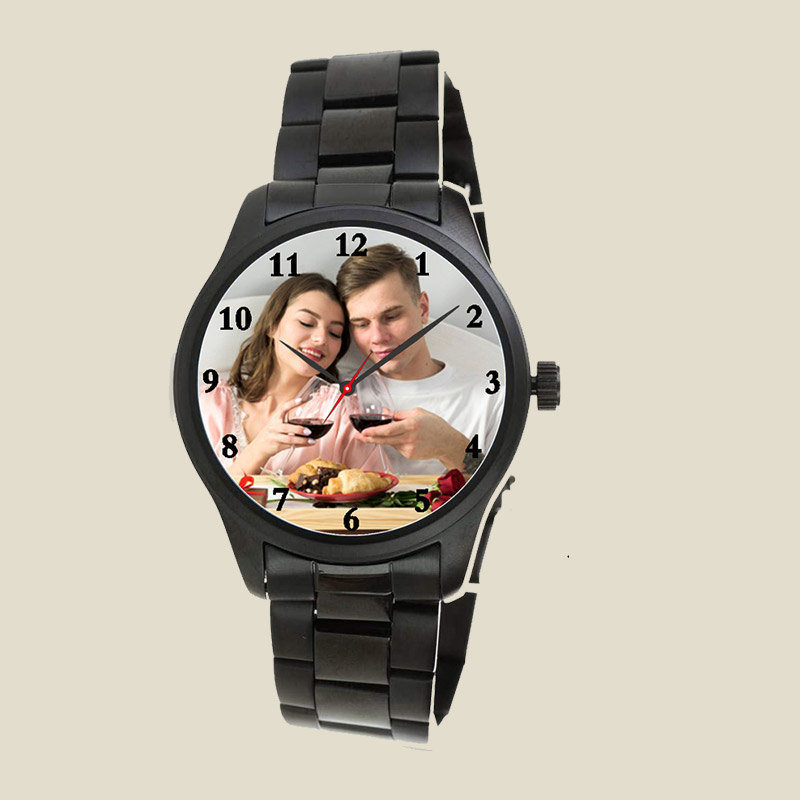Personalised Classic Wrist Watch for Men
