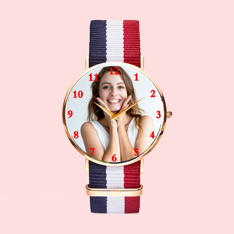 Personalized Photo Watch for Him