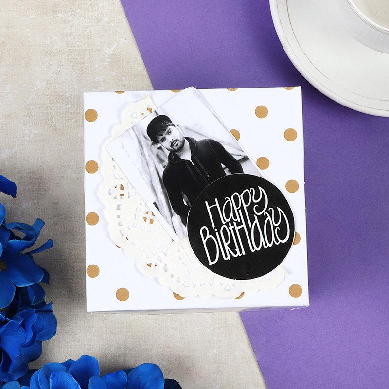 Photo Birthday Explosion Box