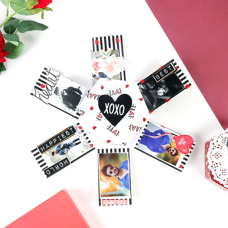 Valentines Photo Explosion Box