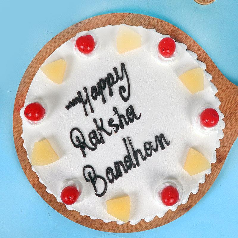 Send Rakhi with Cake Online to India