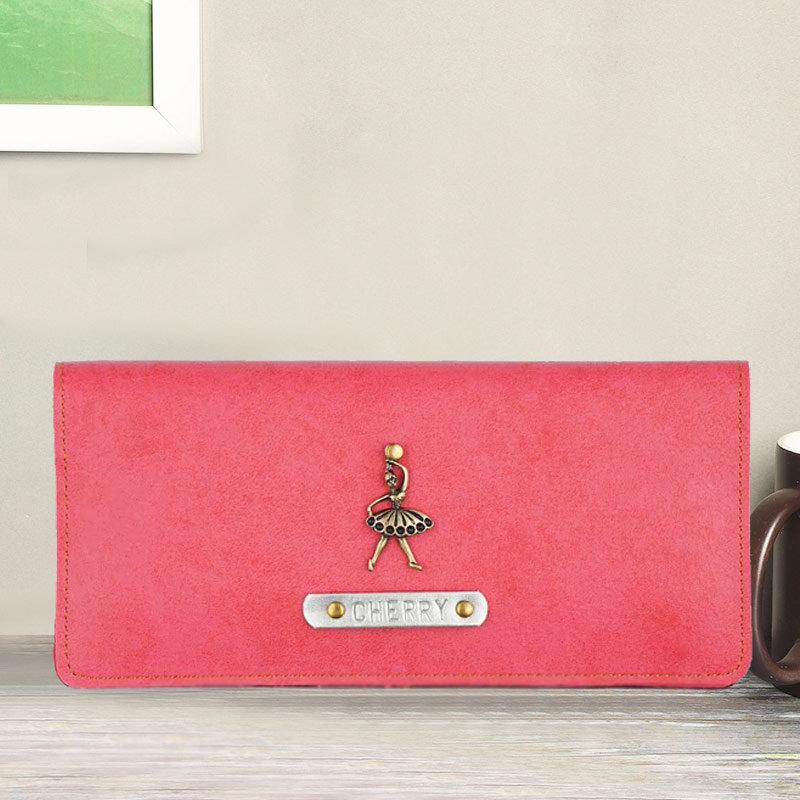 Personalised Pink Womens Wallet