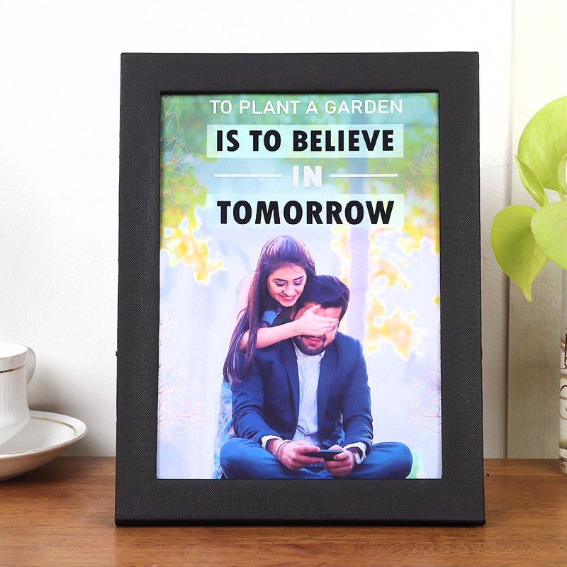 Plant Quoted Photo Frame