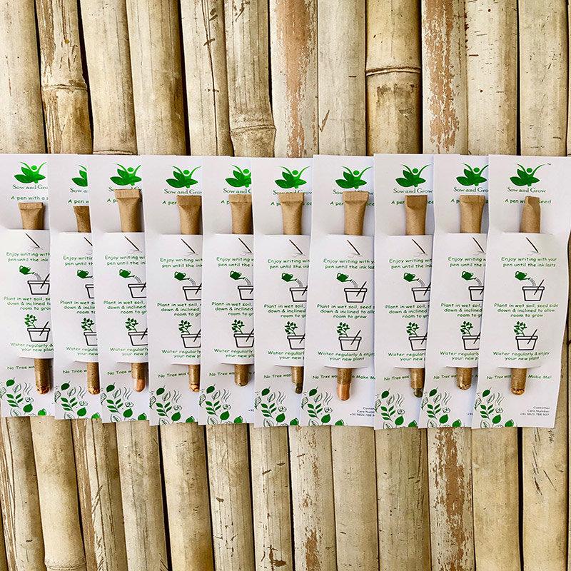 Plantable Paper Pen