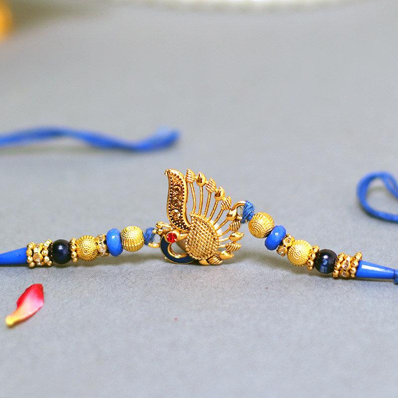 Pleasant Peacock Rakhi