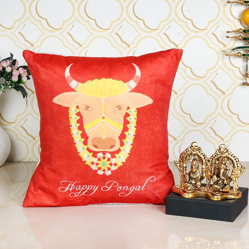 Pongal Ganesha Laxmi N Cushion Combo