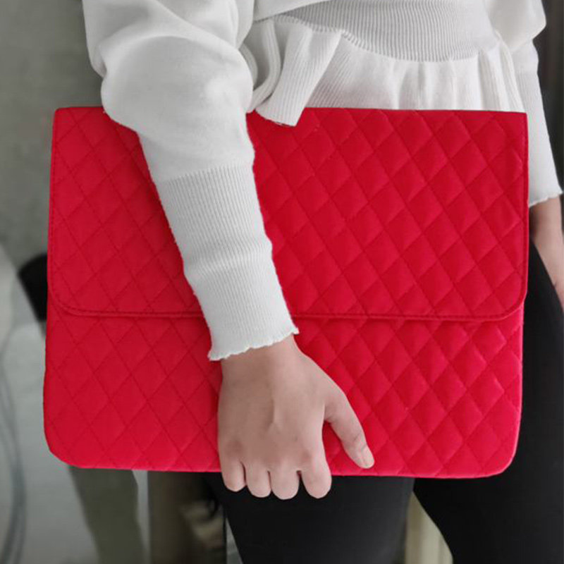 Pretty Red Office Laptop Sleeve