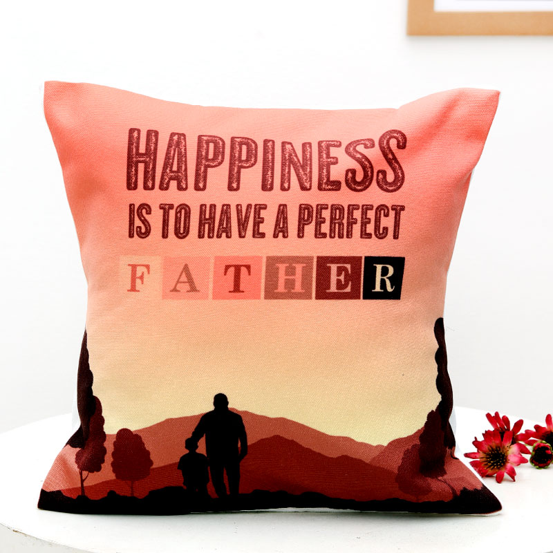 Printed Fathers Day Cushion
