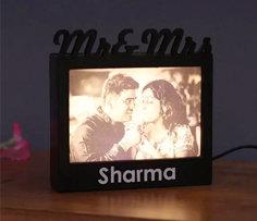 Personalised Photo Lamp