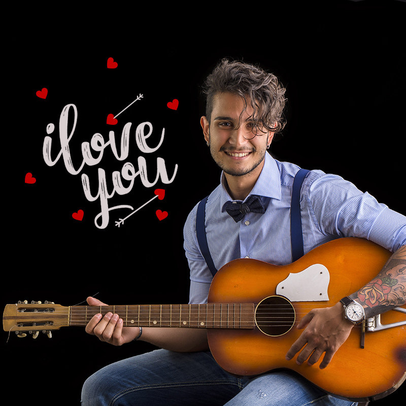 Say I Love With Lovely Song With Guitar