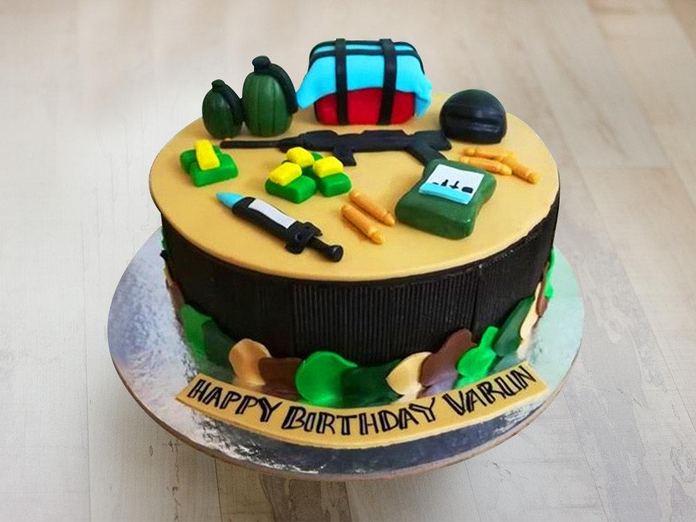 A PUBG Cake